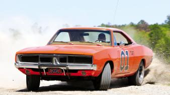 Dukes of hazzard general lee muscle car wallpaper