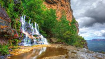 Falls australia national park new south wales wallpaper