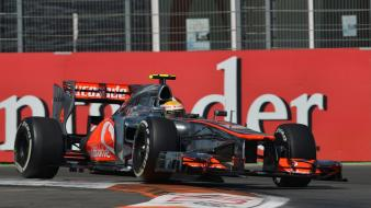 Formula one spain mclaren valencia lewis hamilton Wallpaper