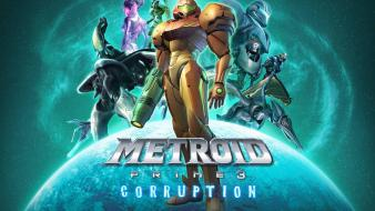 Games samus aran prime corruption varia wii wallpaper