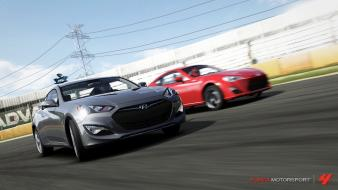 Hyundai genesis forza motorsport 4 scion fr-s wallpaper