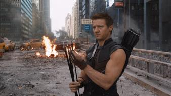 Jeremy renner the avengers (movie) bow (weapon) wallpaper