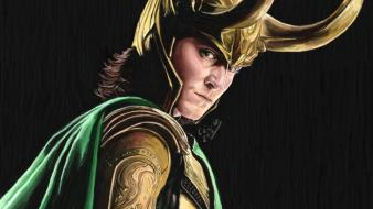 Loki fan art the avengers (movie) wallpaper