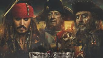 Mcshane on stranger tides blackbeard hector barbossa wallpaper