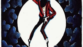 Michael jackson spot light morten morland wallpaper