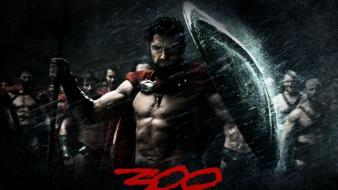 Movies 300 (movie) movie posters Wallpaper