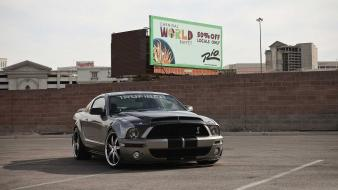 Muscle cars shelby mustang widescreen gt500 Wallpaper
