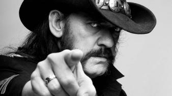 Music motorhead bands lemmy killmister cowboy hats wallpaper