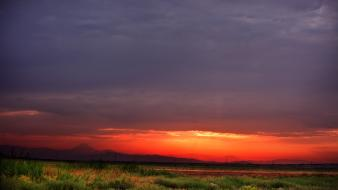 Nature horizon fields iran hdr photography skyscapes Wallpaper