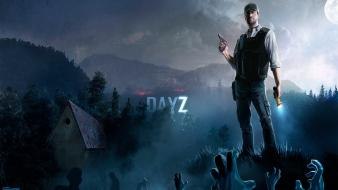 Nature night men zombie apocalypse dayz wallpaper