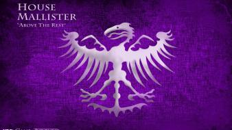 Of thrones logos tv series house mallister wallpaper