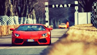 Outdoors vehicles aventador driving automotive automobiles lp700-4 Wallpaper