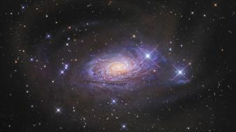 Outer space stars nasa hubble galaxy wallpaper