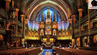 Quebec notre dame geography north america attractions wallpaper