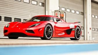 Red cars koenigsegg ccx Wallpaper