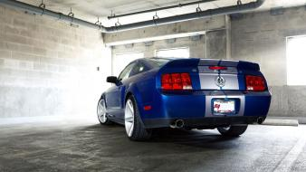 Rims blue ford mustang shelby gt500 vossen wallpaper
