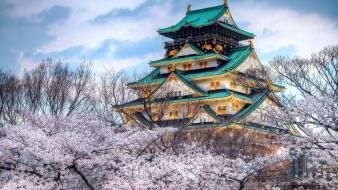 Temples culture japanese architecture wallpaper