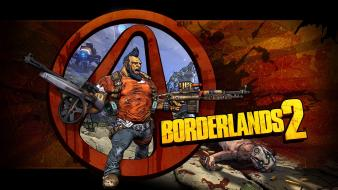 Video games borderlands 2 gunzerker wallpaper