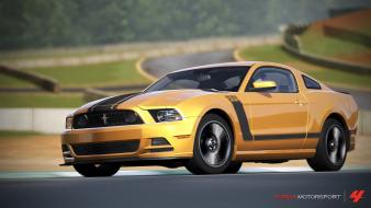 Xbox 360 forza motorsport 4 boss 302 wallpaper