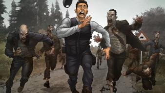 2 runaways games zombie apocalypse dayz sunset wallpaper