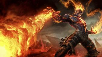 Artwork champions online riot moba game brand wallpaper