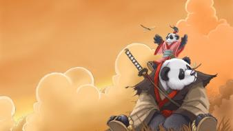 Blizzard entertainment pandaren samwise gamgee mists pandaria wallpaper