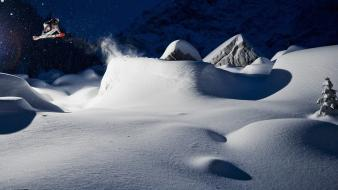 Canada national geographic british columbia landscapes skiing wallpaper
