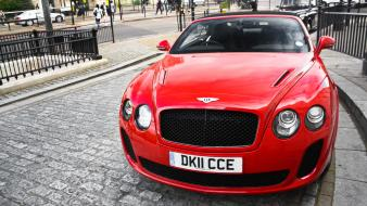 Cars bentley continental supersports convertible wallpaper