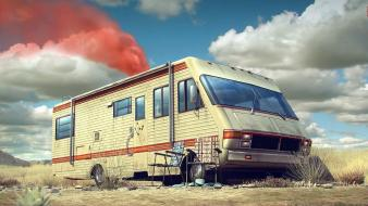 Cars breaking bad 3d low-angle shot wallpaper