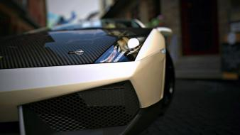 Cars lamborghini gran turismo 5 headlights wallpaper