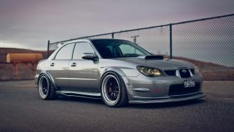 Cars subaru tuning impreza wrx sti wallpaper