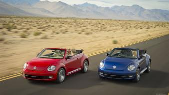Cars vehicles convertible vw beetle wallpaper