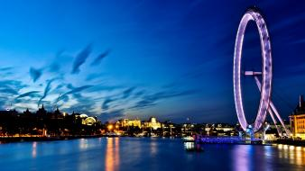 Cityscapes architecture london eye town skyscrapers cities wallpaper