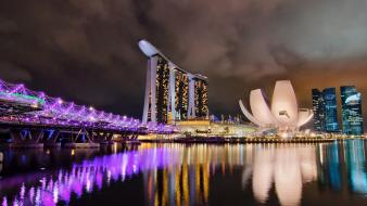 Cityscapes architecture singapore town skyscrapers cities wallpaper