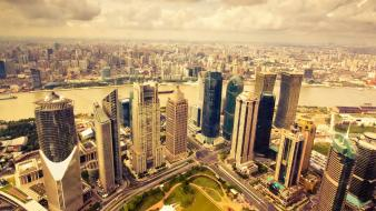 Cityscapes architecture town skyscrapers cities wallpaper