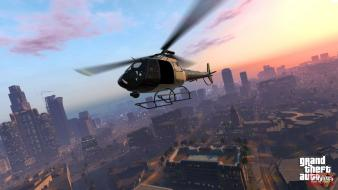 Cityscapes helicopters screenshots grand theft auto v wallpaper
