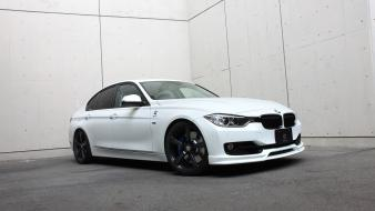 Design bmw 3 series 3d wallpaper