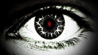 Eyes black eye ill skrillex wallpaper