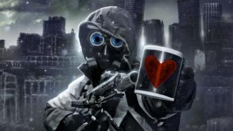 Fiction airbrushed romantically apocalyptic vitaly s alexius wallpaper