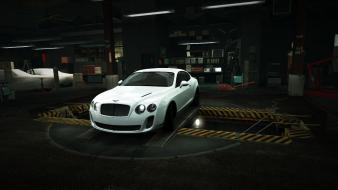 For speed bentley continental supersports garage nfs wallpaper
