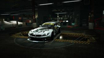 For speed bmw z4 gt3 garage nfs wallpaper