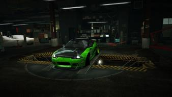 For speed mitsubishi eclipse world garage nfs wallpaper
