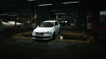 For speed volkswagen golf world garage nfs wallpaper