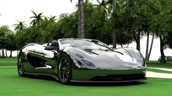Grass supercars wallpaper