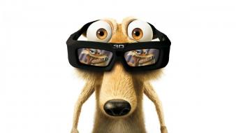 Ice age scrat 3d Wallpaper
