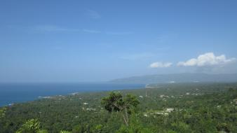 Landscapes haiti caribbean sea baie de jacmel wallpaper