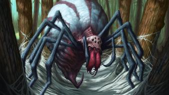 Magic the gathering artwork spiders dave allsop wallpaper