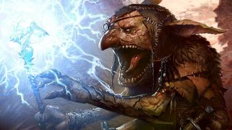 Magic the gathering goblins artwork svetlin velinov Wallpaper
