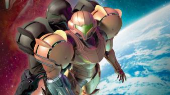 Metroid nintendo samus aran wallpaper