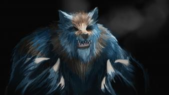 Monsters werewolf artwork werewolves wallpaper